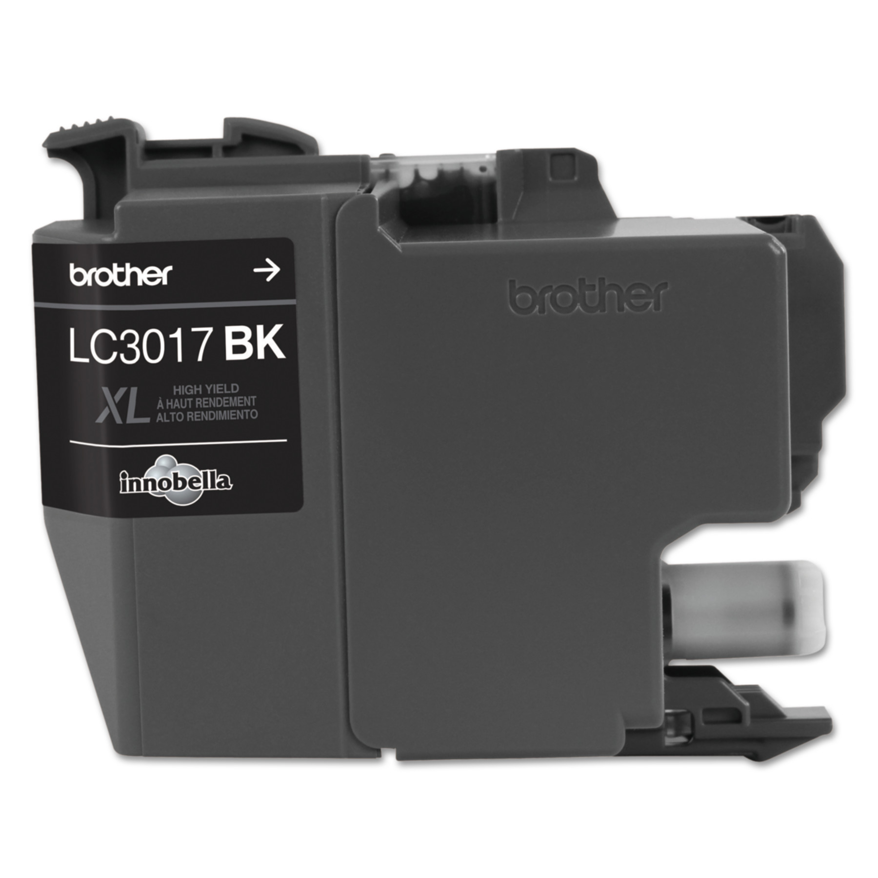 Brother LC3017BK High-Yield Ink, 550 Page-Yield, Black