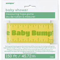150ft Baby Shower Bump Measuring Tape Game