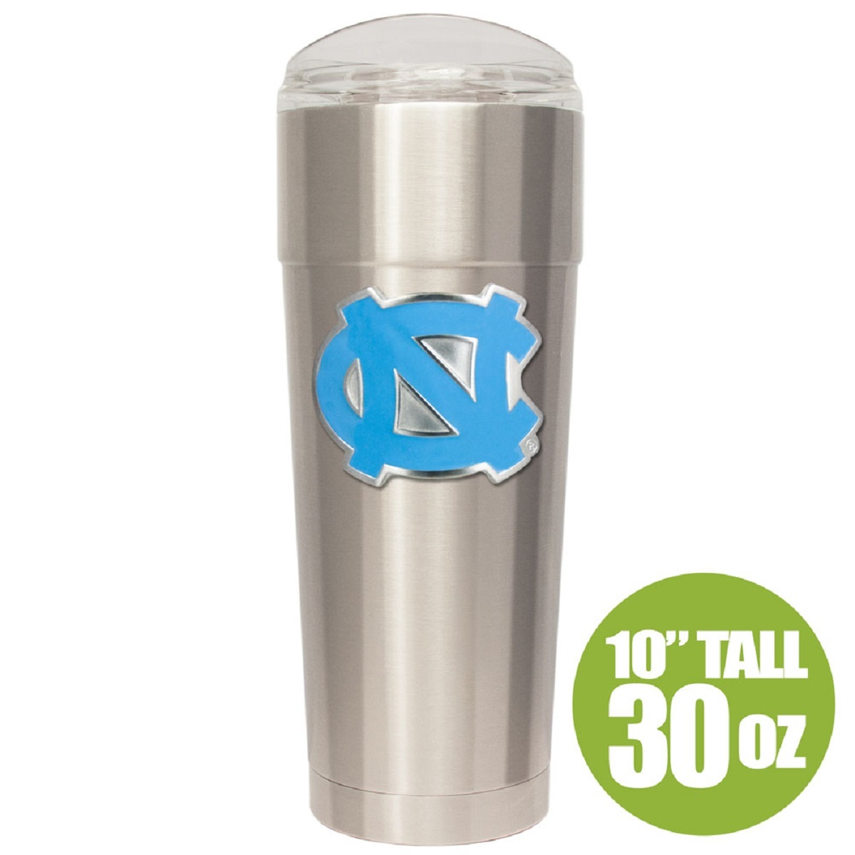 North Carolina Tar Heels 30oz Vacuum Insulated Eagle Stainless Steel Party Cup