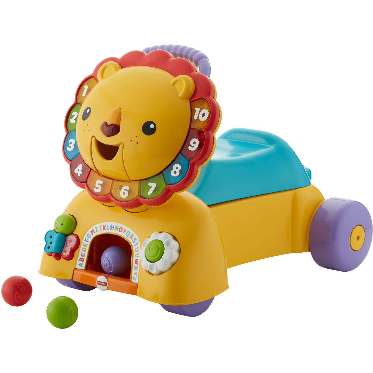Fisher Price 3-in-1 Sit, Stride and Ride Lion Playset