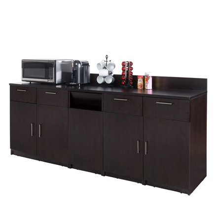 """Coffee Break Lunch Room Furniture FULLY ASSEMBLED """"Ready-To-Use"""" 3pc Group BREAKTIME Model 2780 - Elegant Espresso Color...INSTANTLY create your new Coffee Break Lunch Room!!!"""