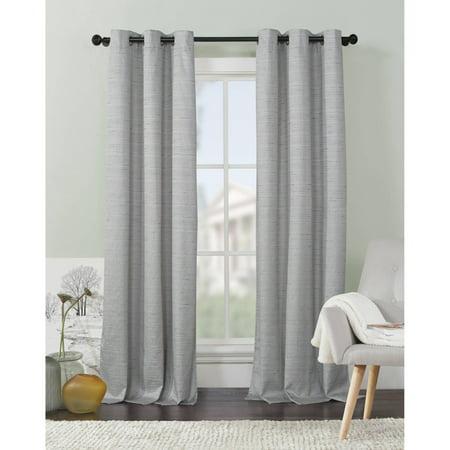 VCNY Home Textured Livingston Grommet-Top Blackout Curtain Panels, Set of 2 (Livingston Panel)