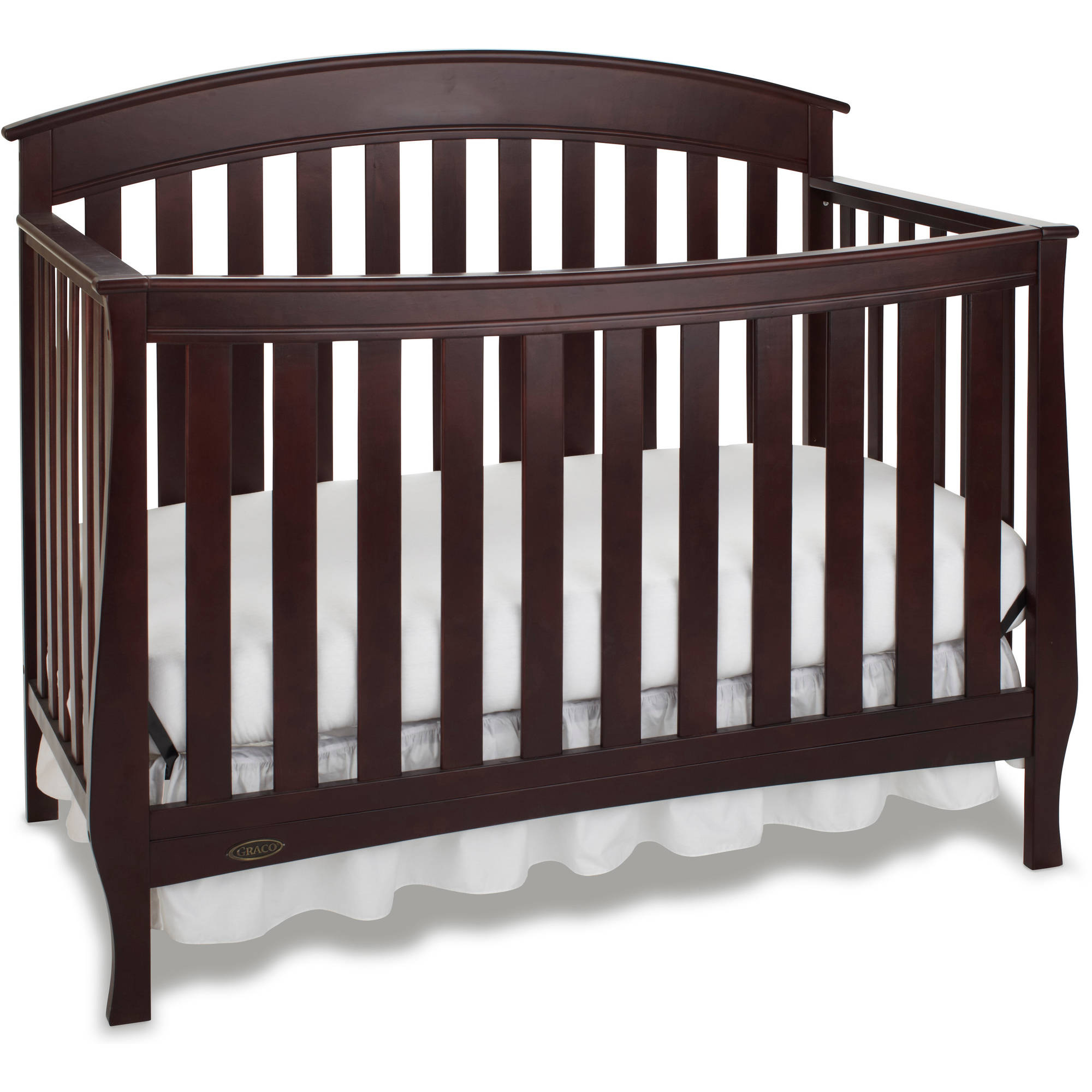 Graco Suri 4 in 1 Convertible Crib Espresso