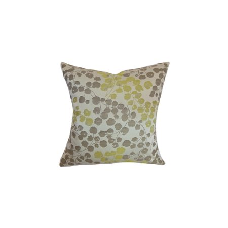 the pillow collection reynosa floral throw pillow cover - The Pillow Collection
