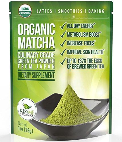 Matcha Green Tea Powder Powerful Antioxidant Japanese Organic