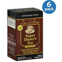 Laci Le Beau Cinnamon Spice Super Dieter's Tea, 1.32 oz, (Pack of 6)