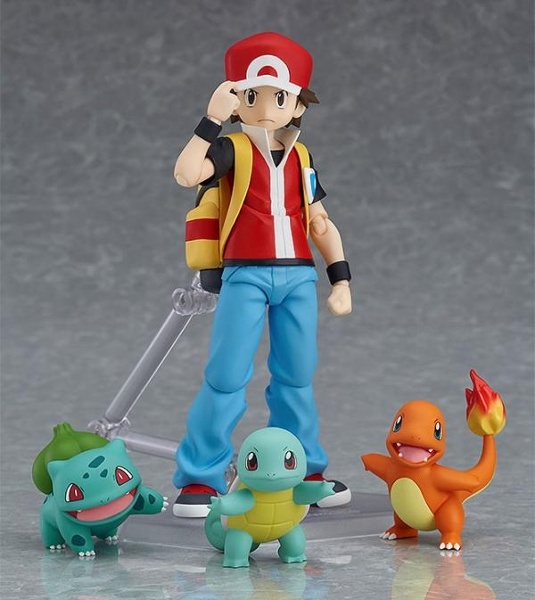 Max Factory Figma Pokemon Red Trainer 356 Action Figure
