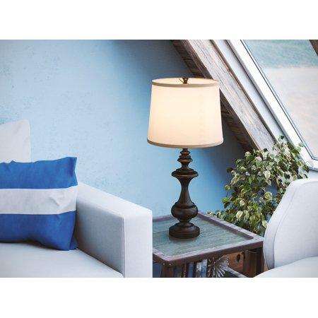 Kenroy Home Stratton Table Lamp, Oil Rubbed