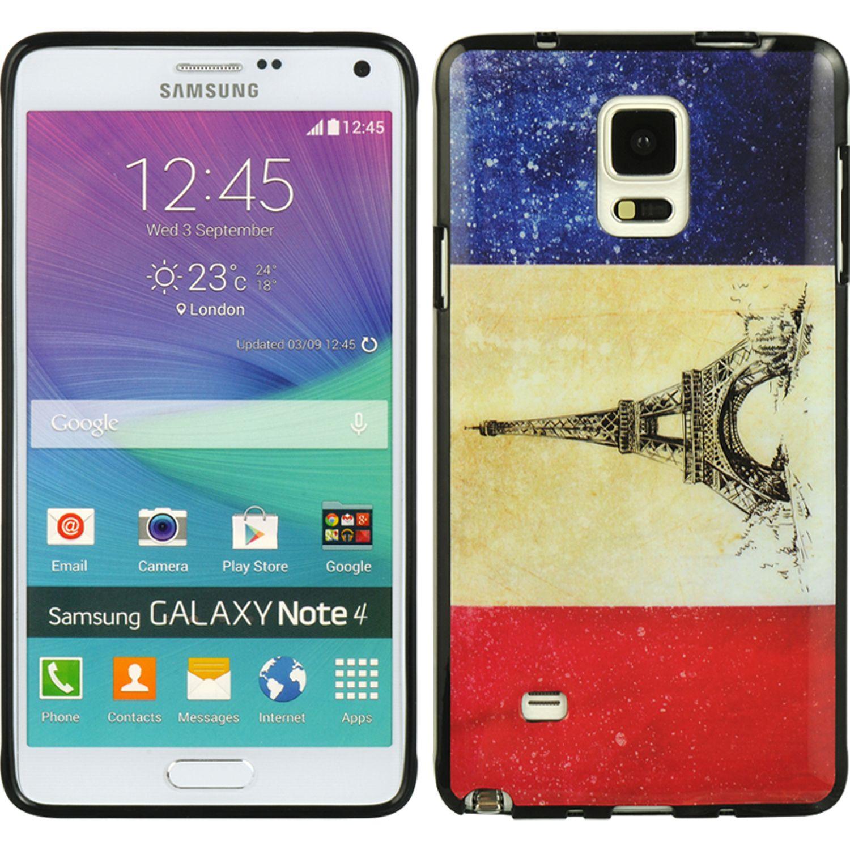 DreamWireless TISAMNOTE4FLFR Samsung Galaxy Note 4 TPU IMD Case, Flag France