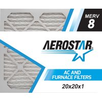 Product Image 20x20x1 Ac And Furnace Air Filter By Aerostar Merv 8 Box Of 6