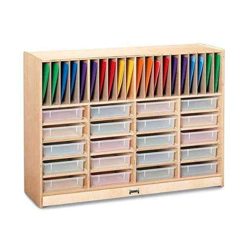 Jonti Craft Paper Storage and Folder Cubby Homework Station