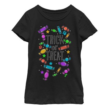 Girls' Halloween Candy Explosion T-Shirt - Risky Business Girls Halloween