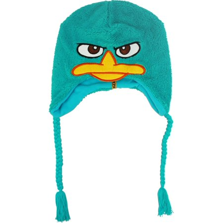 Phineas and Ferb Perry Fuzzy Peruvian Laplander Hat