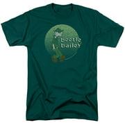 Beetle Bailey - Green Beetle - Short Sleeve Shirt - Small