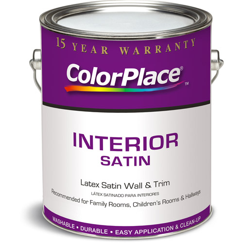 Colorplace White Satin Grab-N-Go, 1-Gallon