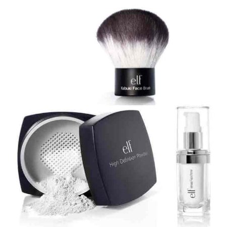 elf Studio High Definition Loose Face Powder With Mineral Infused Face Primer..., elf Studio High Definition Loose Face Powder With Mineral Infused.., By