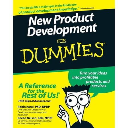 For Dummies: New Product Development for Dummies (Paperback) Products Dummy Key
