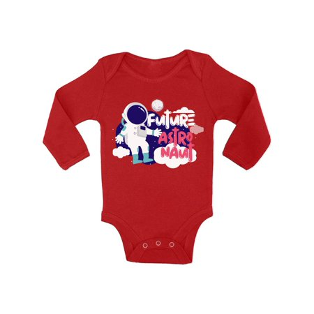 Awkward Styles Future Astronaut Baby Bodysuit Long Sleeve Baby Shower Gifts Cute Space Outfit for Baby Boy Cute Space Outfit for Baby Girl Space Themed Party Astronaut Clothing Funny Space Gifts](Astronaut Outfits)
