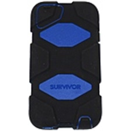 Griffin Technology GB35697-3 Survivor Case for Apple iPod Touch 5G - Blue, Black