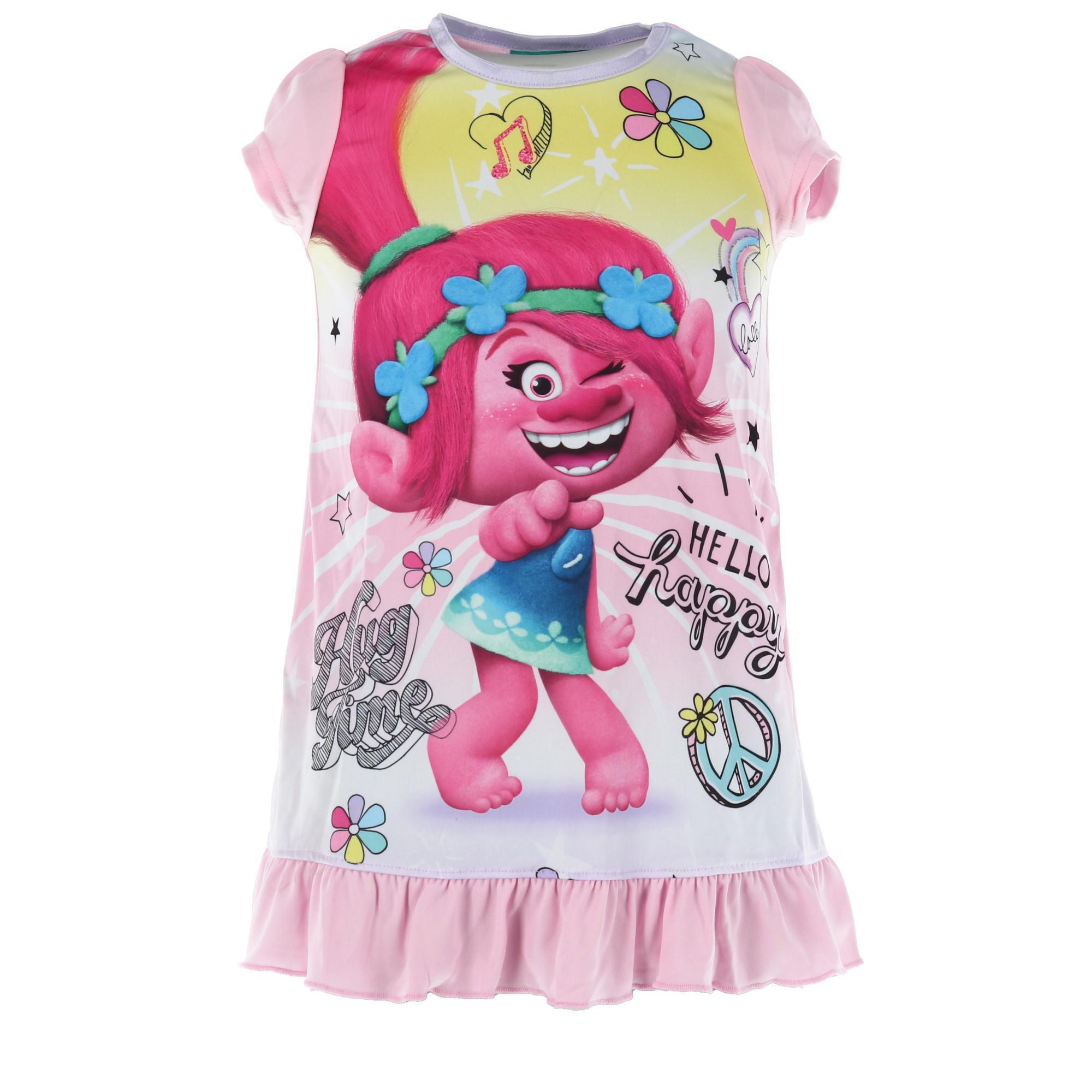 Trolls Girls Poppy Nightdress