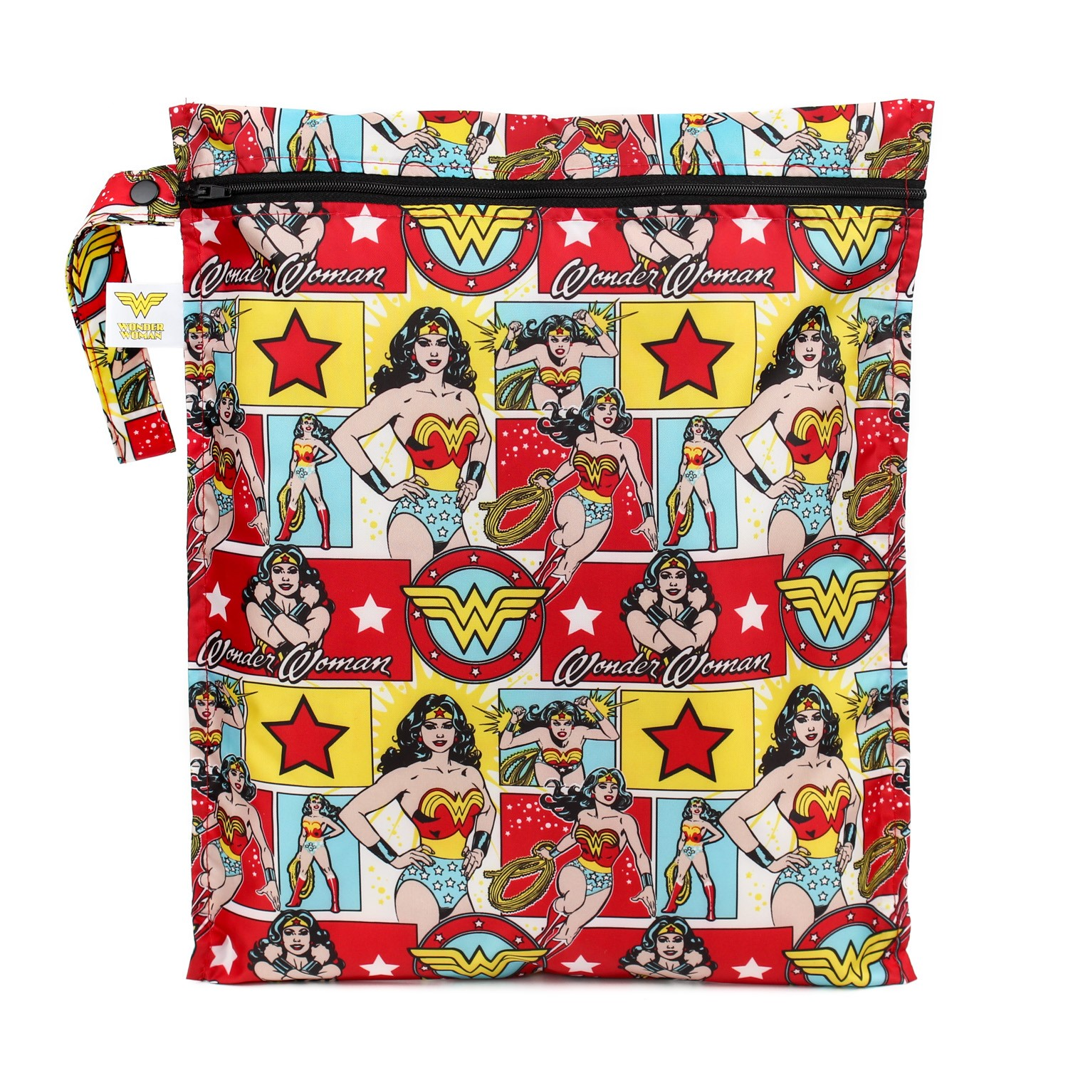 Bumkins DC Comics Wet Bag, Wonder Woman Comic