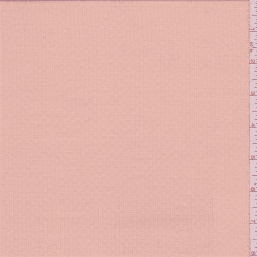 Peach Coral Stripe Shirting, Fabric By the Yard