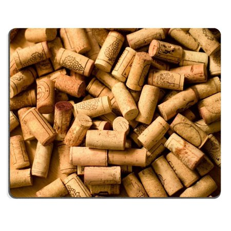 POPCreation wine corks heap on wooden Mouse pads Gaming Mouse Pad 9.84x7.87 inches ()