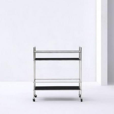 Whiteline Modern Living Jessica Bar Cart