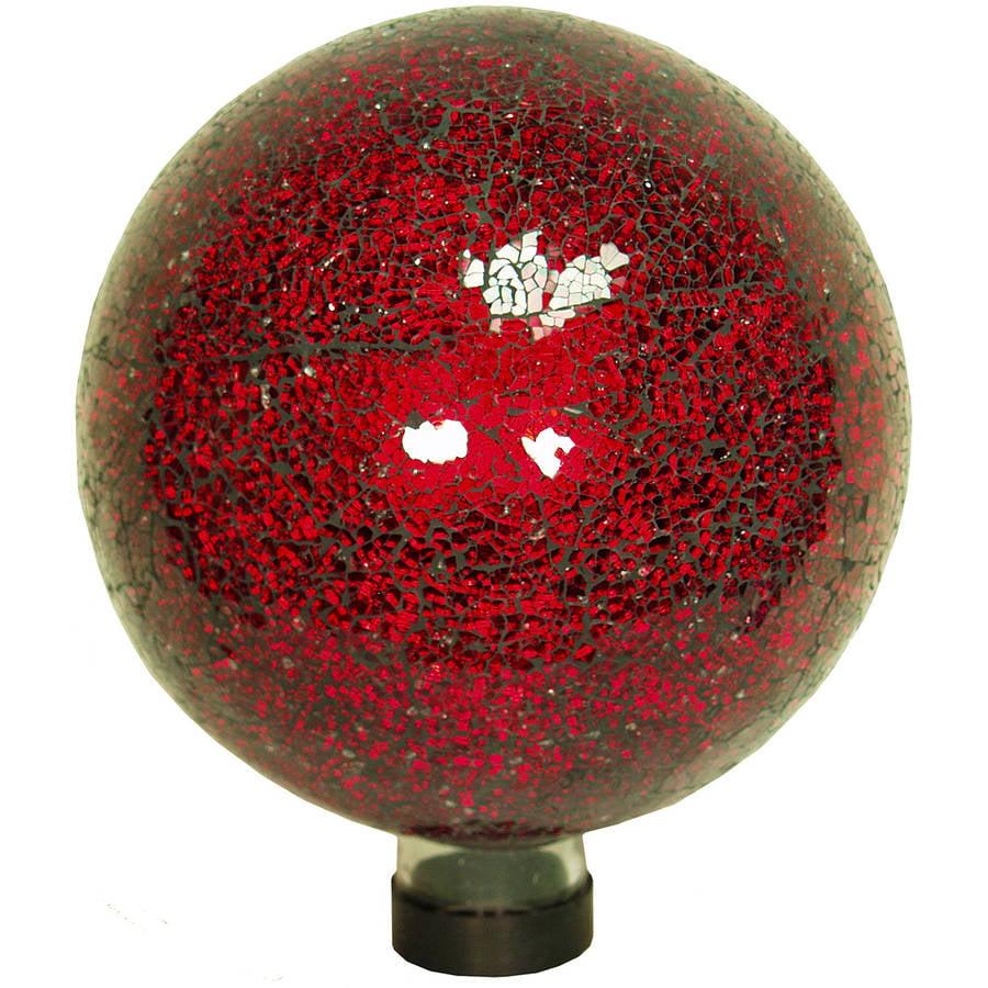 "Echo Valley 8197 10"" Red Mosaic Gazing Globe"