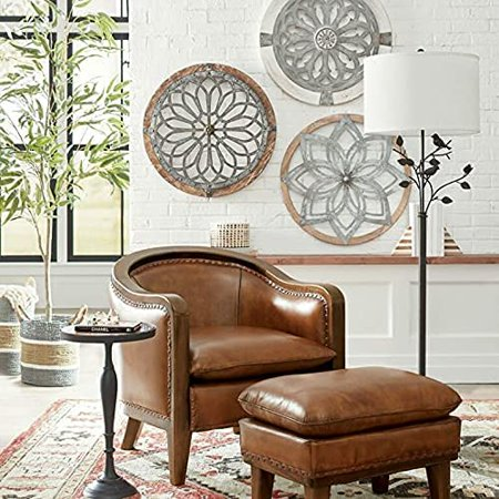 Heritage Round Wall Art Metal, Round Wall Decor Canada