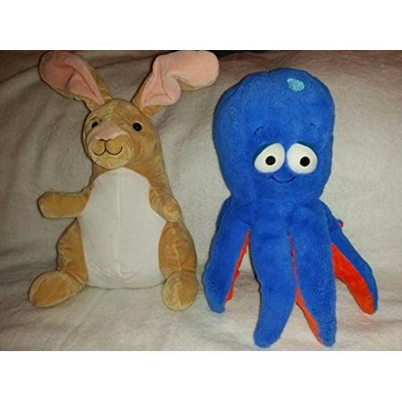 Kohls Cares Plush Bundle Set: Kangaroo and Octopus Kohls Cares Plush Bundle Set: Kangaroo and Octopus