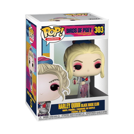 Funko POP! Heroes: Birds of Prey - Harley Quinn (Black Mask Club)
