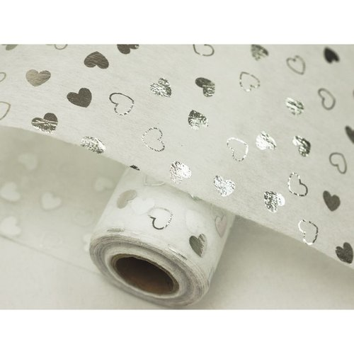 Non-Woven HEART SHOWER Fabric Bolt - 19x10Yards