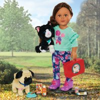 "My Life As Pet Rescue Play Set for 18"" Dolls, 19 Pieces"