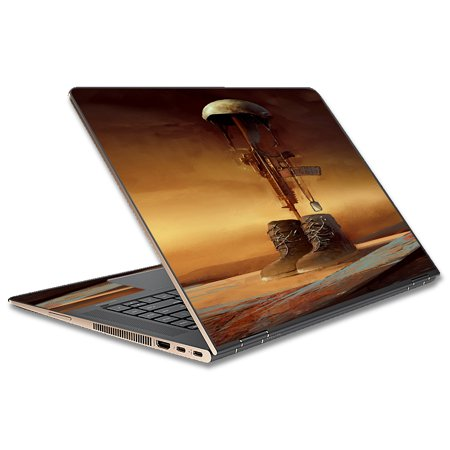 """Skin Decal For Hp Spectre X360 13T 13.3"""" Laptop Vinyl Wrap / Fallen Soldier Remember Boots Rifle"""