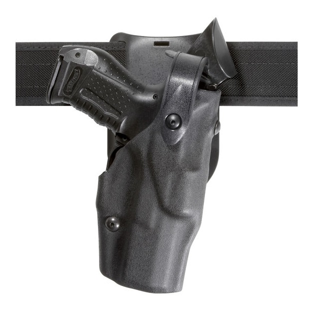 Safariland 6365-832-81 Black Basketweave RH Duty Holster For Glock 26 27 M3 by SAFARILAND