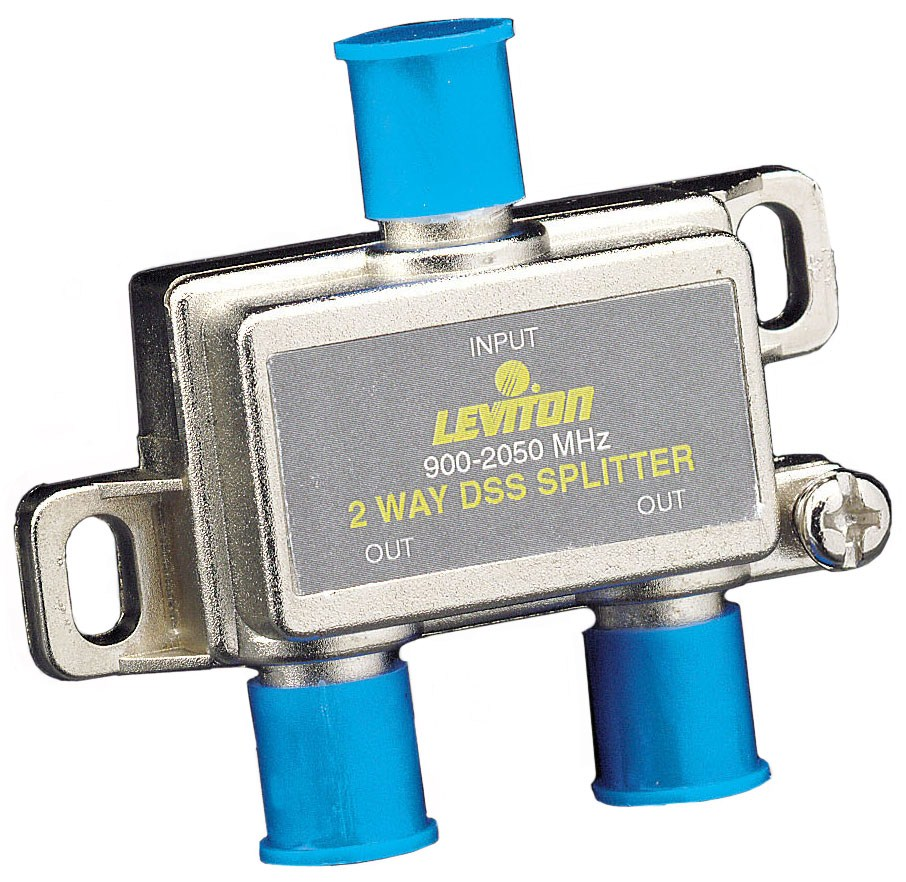 Leviton 630-40867dss 2 Way Video Splitter
