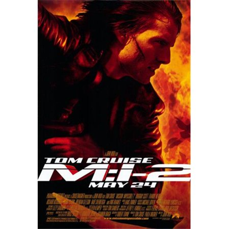 Posterazzi MOV213270 Mission Impossible 2 Movie Poster - 11 x 17 in. - image 1 de 1