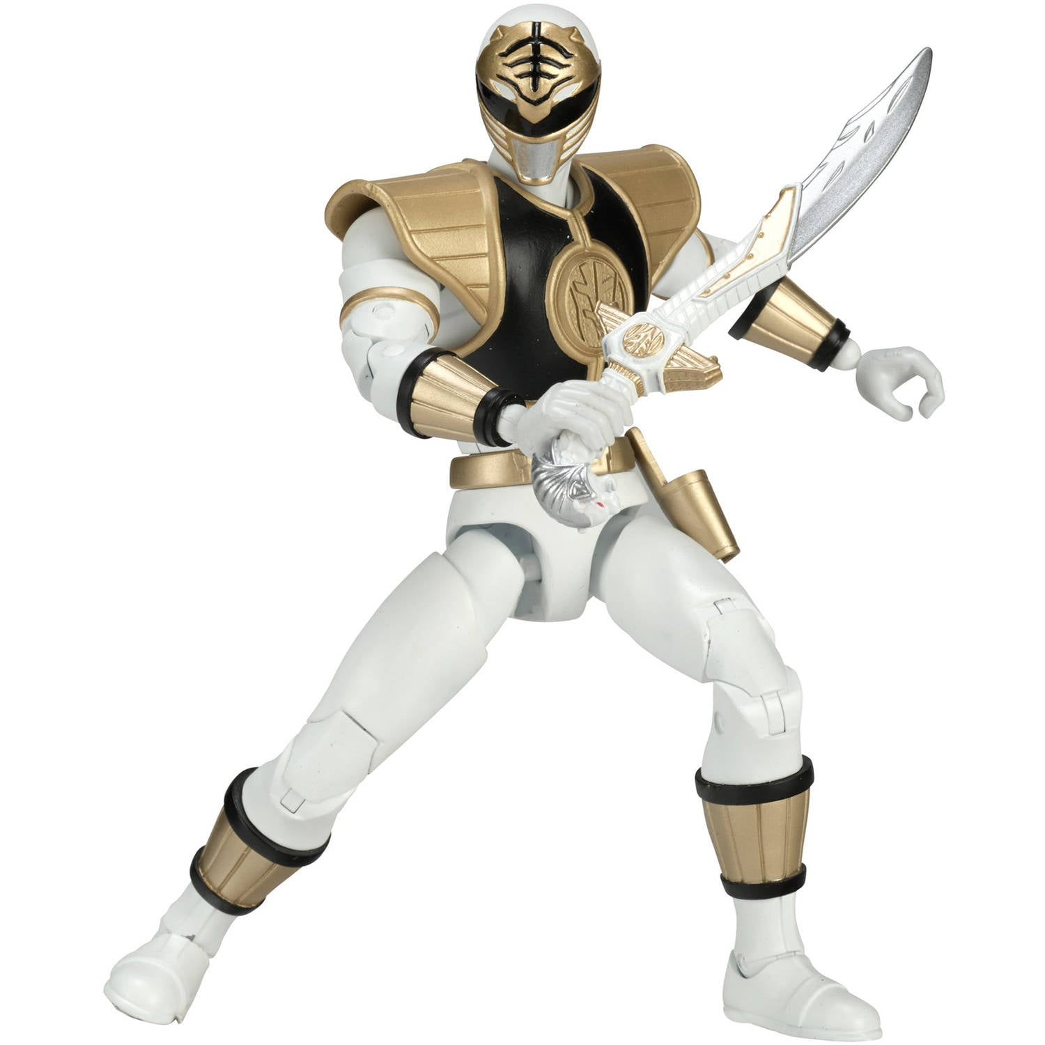 Power Rangers Legacy Mighty Morphin White Ranger by Bandai America