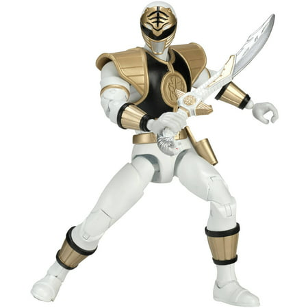 Power Rangers Legacy Mighty Morphin White Ranger](Troy Power Rangers)