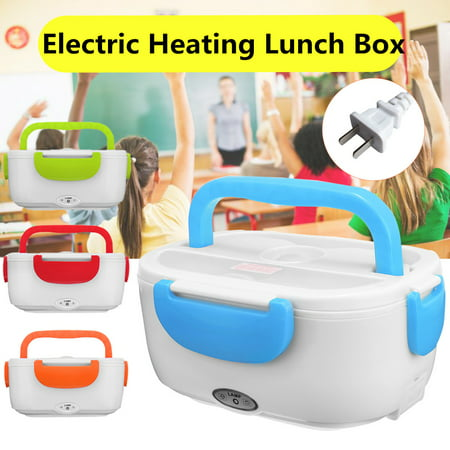 Portable Electric Heating Lunch Box Food Warmer Storage Box With