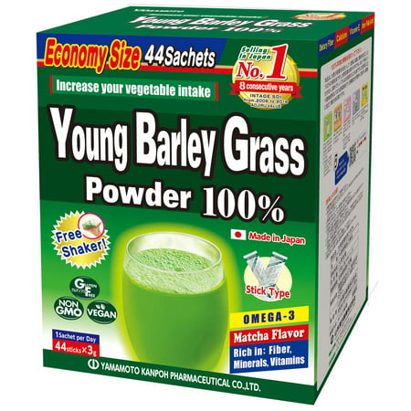 Yamamoto Kanpoh 100% Young Barley Grass Powder, 44 (Best Powder For 338 Win Mag)