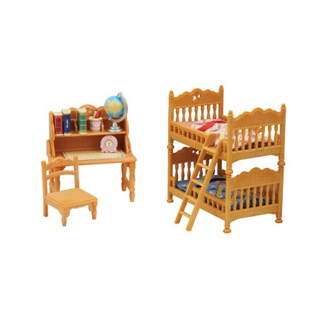 Calico Critters Children\'s Bedroom Set, Furniture Accessories
