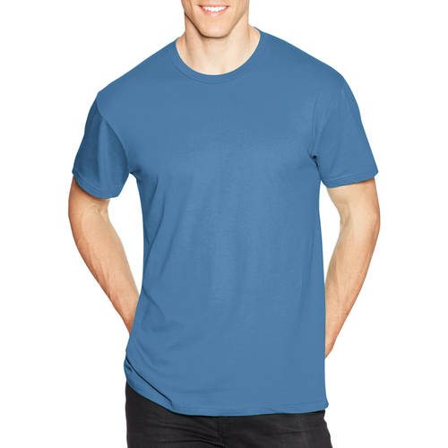 Hanes Young Men's Solid Short Sleeve Nano Tee