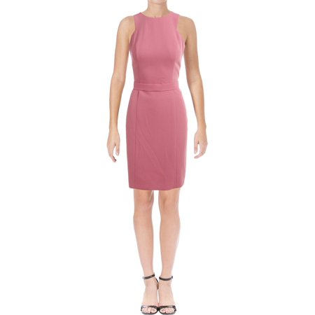 BOSS Hugo Boss Womens Dalanea Crepe Sleeveless Wear to Work Dress