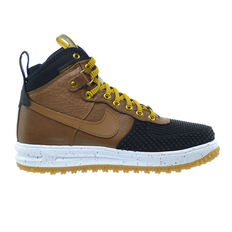 Nike Lunar Force 1 Duckboot Men's Shoes Black/Light Briti...