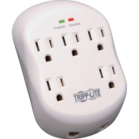 Tripp Lite Protect It! 5-Outlet Surge Protector w/ 1-Line RJ11 Protection,