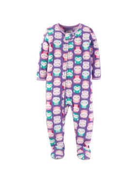 Toddler Girl Microfleece Sleeper