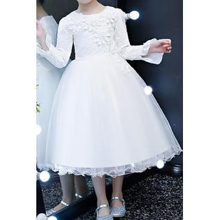 Kids Baby Girls Communion Christening Small Dress