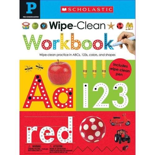 Wipe Clean Workbooks, Pre-Kindergarten: Included Wipe Clean Pen